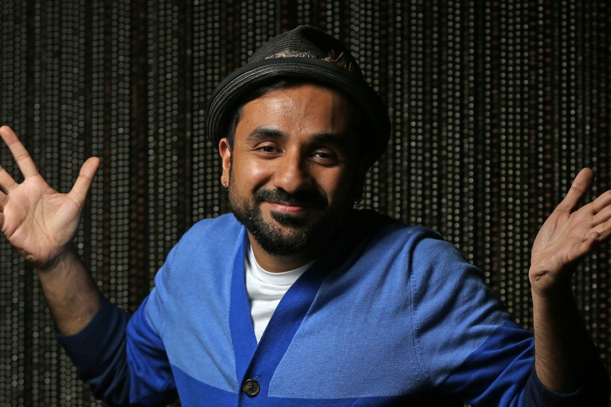 Bollywood actor, YouTube personality and comedian Vir Das at W Hotel, in West Kowloon, Hong Kong. Picture: Xiaomei Chen