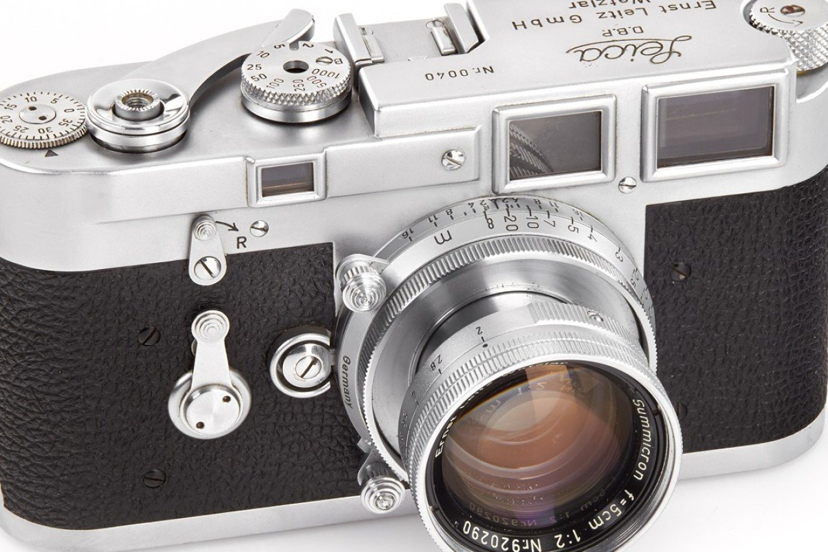 Leica camera for auction