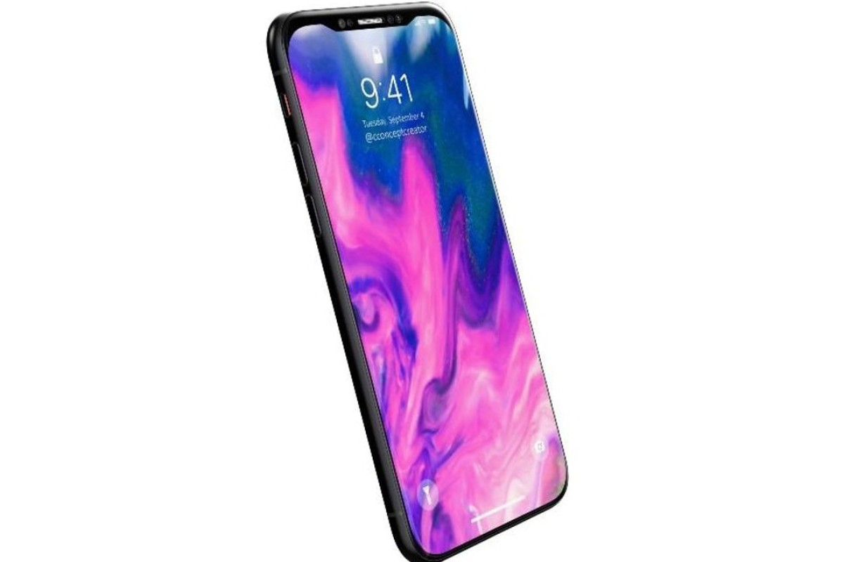 Investment bank analysts at Barclays expect three versions of the iPhone X in 2018. Photo: Concept by Concept Creator