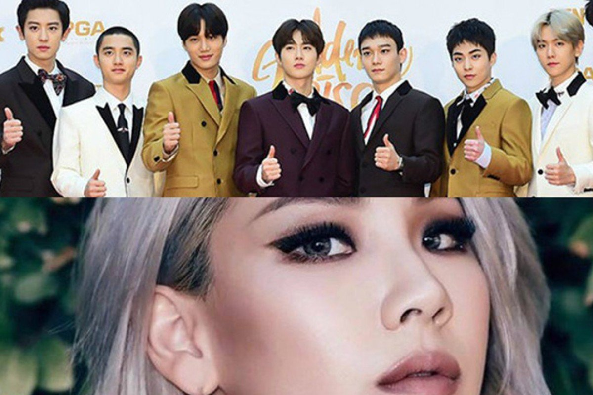 K pop stars exo cl at winter olympics closing ceremony style k pop boy band exo top and singer cl will take part in stopboris Images