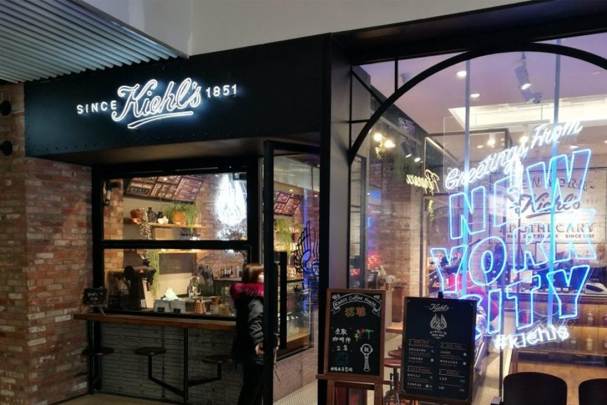 Kiehl's store and cafe in Beijing. Photo: Jessica Rapp