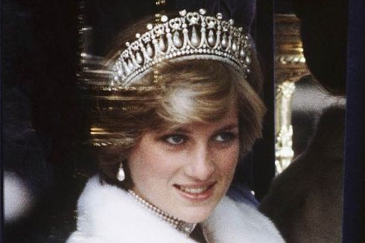 Princess Diana wears a tiara on her way to the state opening of Britain's Parliament in 1981. Photo: WireImage