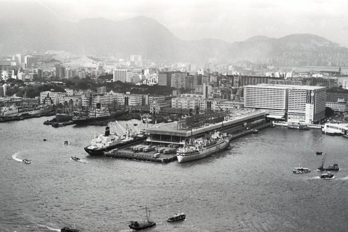 Ocean Terminal in Tsim Sha Tsui in 1970. Picture: SCMP