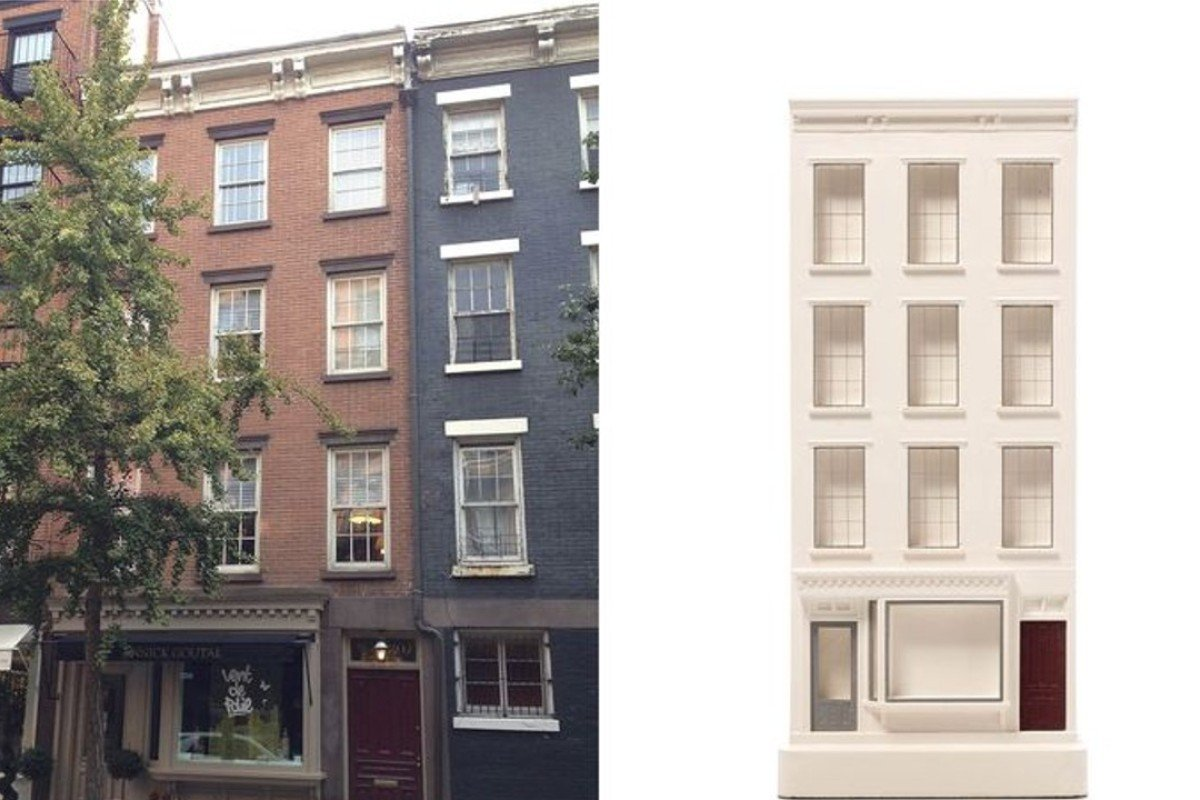 David Stutzman's townhouse at 397 Bleecker Street in New York, with its Chisel & Mouse model. Photos: David Stutzman /Chisel & Mouse
