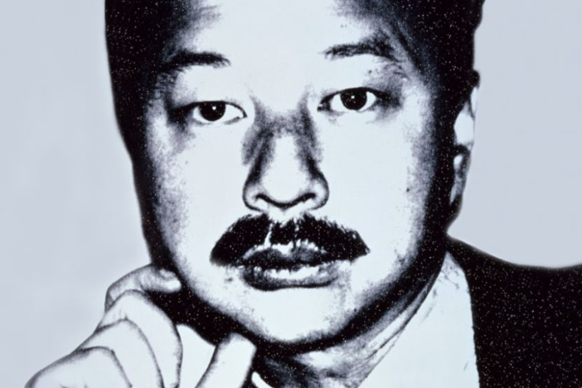 A portrait of Michael Chow by Andy Warhol. Photo: Mr Chow