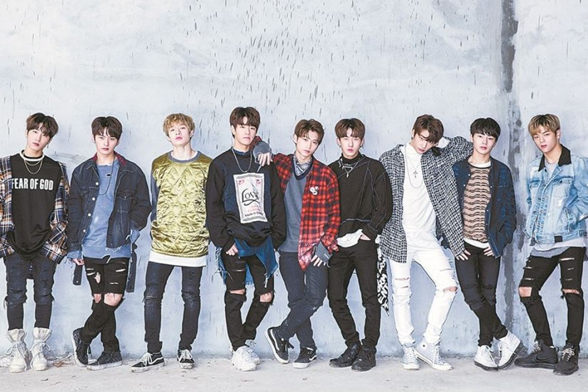 JYP Entertainment's new boy band, Stray Kids. Photo: Korea Times
