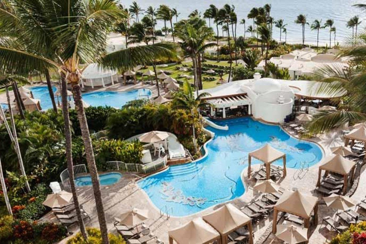 The Oceanfront Fairmont Kea Lani Hawaii Offers Many Activities And Facilities For Families