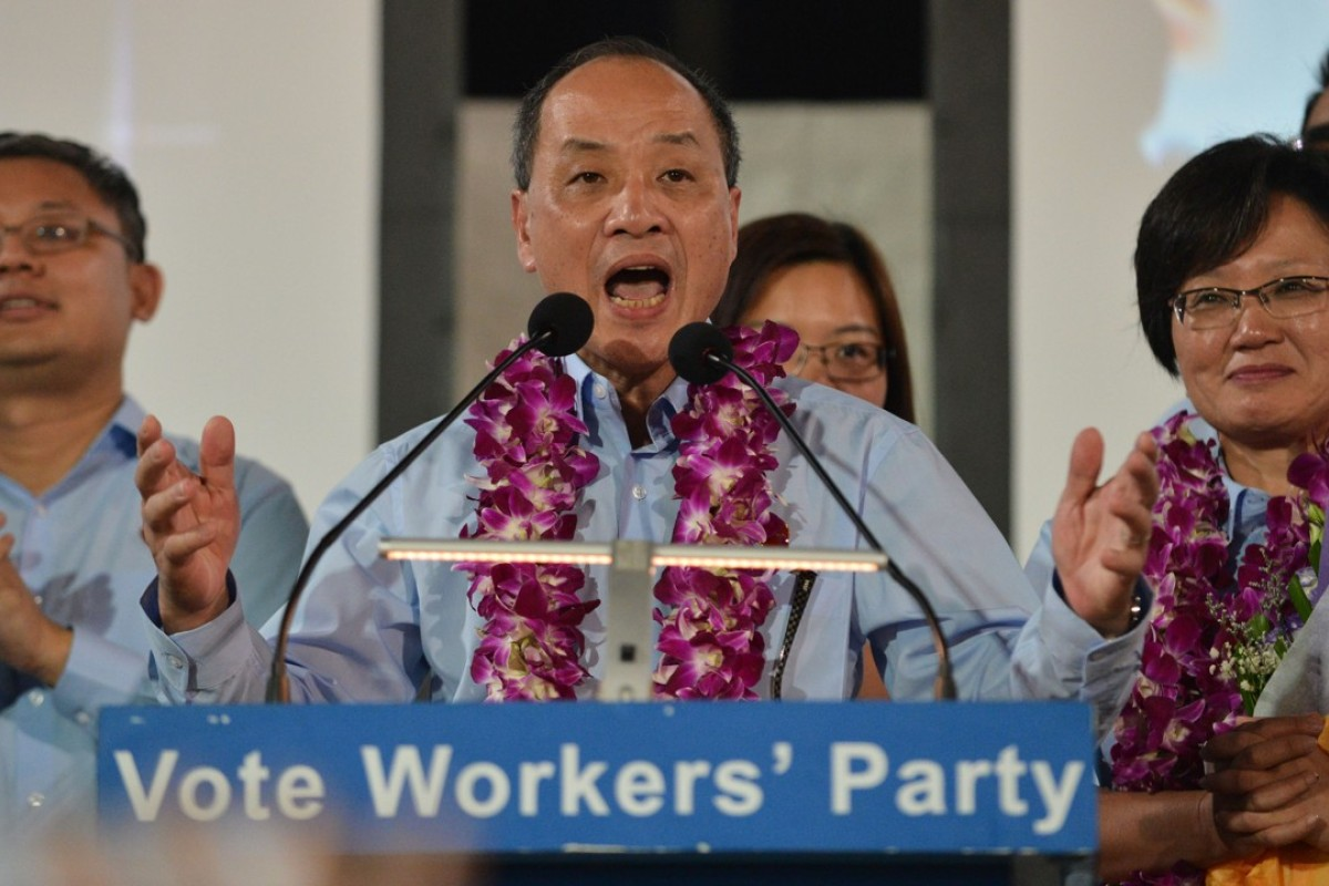 Low Thia Kiang announced he is stepping down from his leadership role in the Workers' Party. Photo: AFP