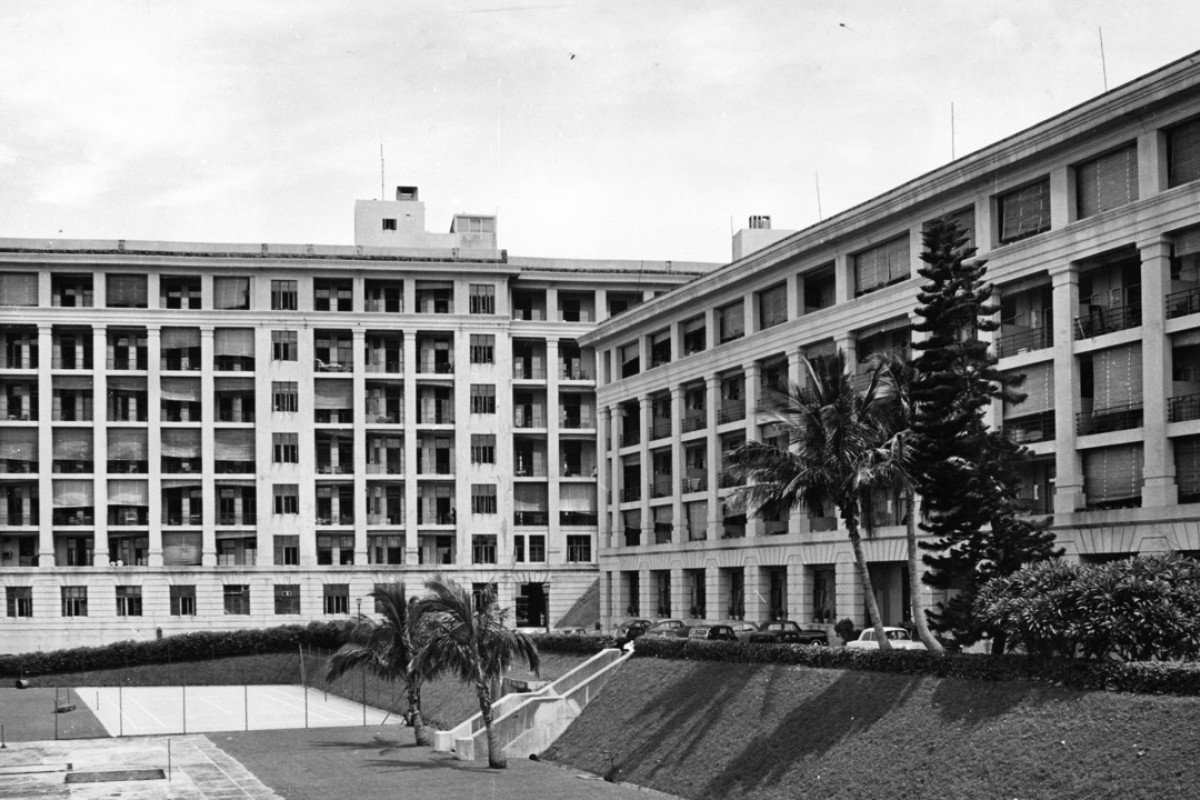The Queen Mary Hospital in September, 1959. Picture: GIS
