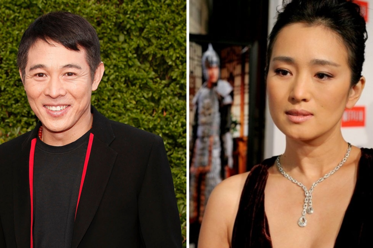 Jet Li (left) and Gong Li are poised to take starring roles in Disney's 2020 release of 'Mulan'
