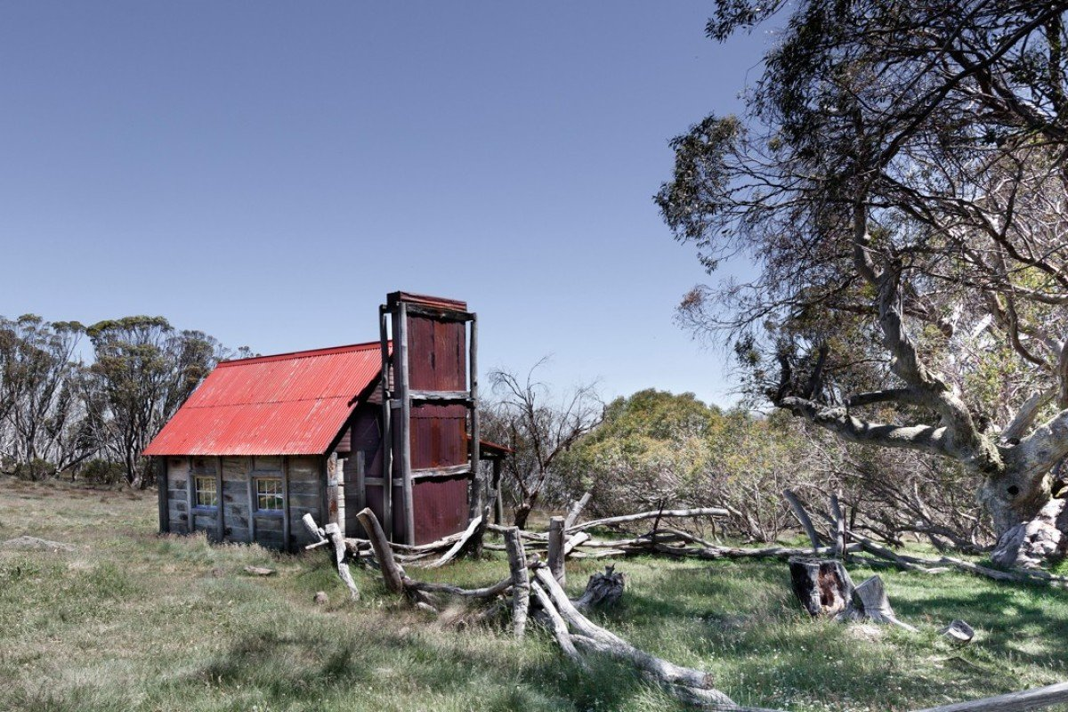 A hut in the Australian bush. Picture: Alamy