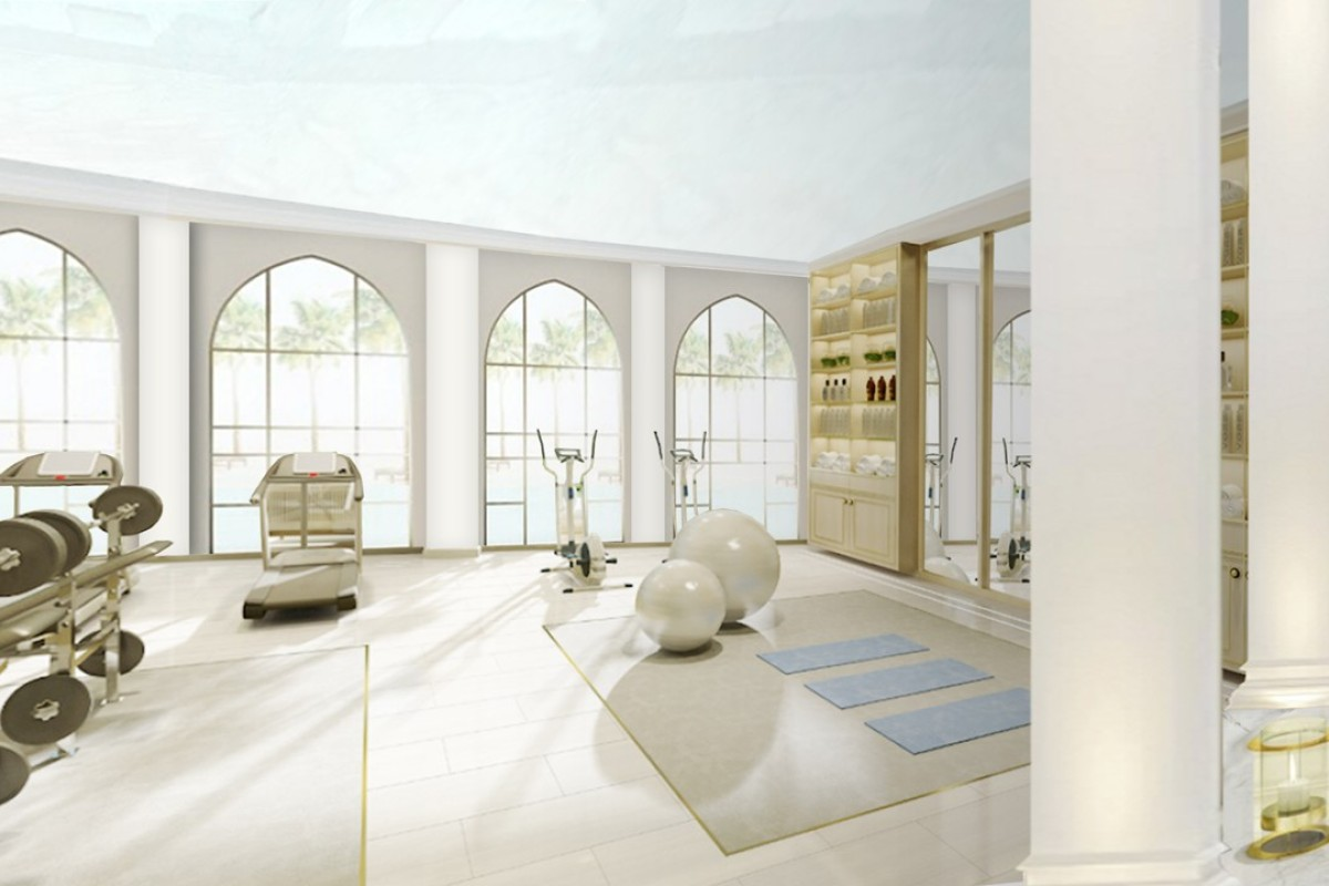 The spaces are multifunctional, allowing a range of exercising and pool fitness activities.