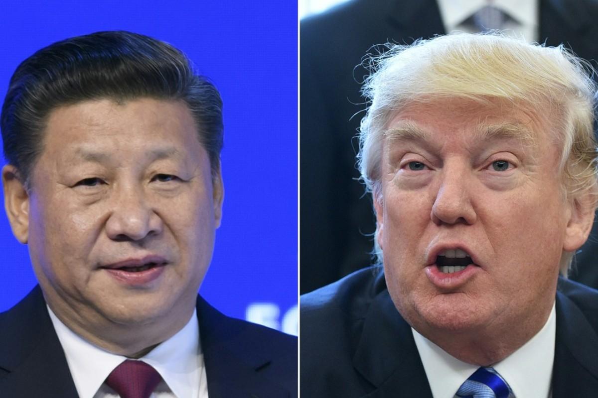 Xi Jinping and Donald Trump. Photo: AFP