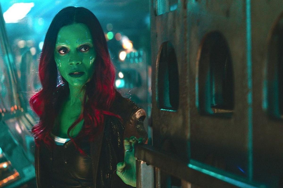 Zoe Saldana as Gamora in Marvel Studios' 'Avengers: Infinity War'. Photo: Marvel Studios