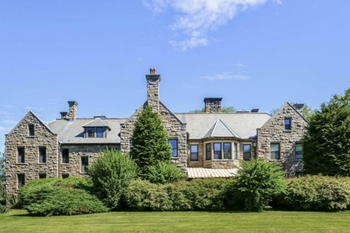 A Newport mansion originally built for Harold Brown is being relisted on the market for $5 million. Photo: Sotheby's International Realty