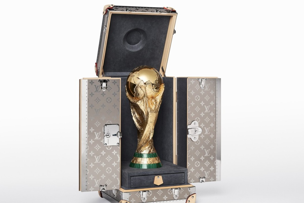 Louis Vuitton's FIFA World Cup Russia trophy travel case will be on display at the opening match on June 14.