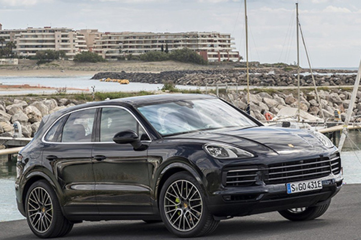The latest Porsche Cayenne makes for a good ride.