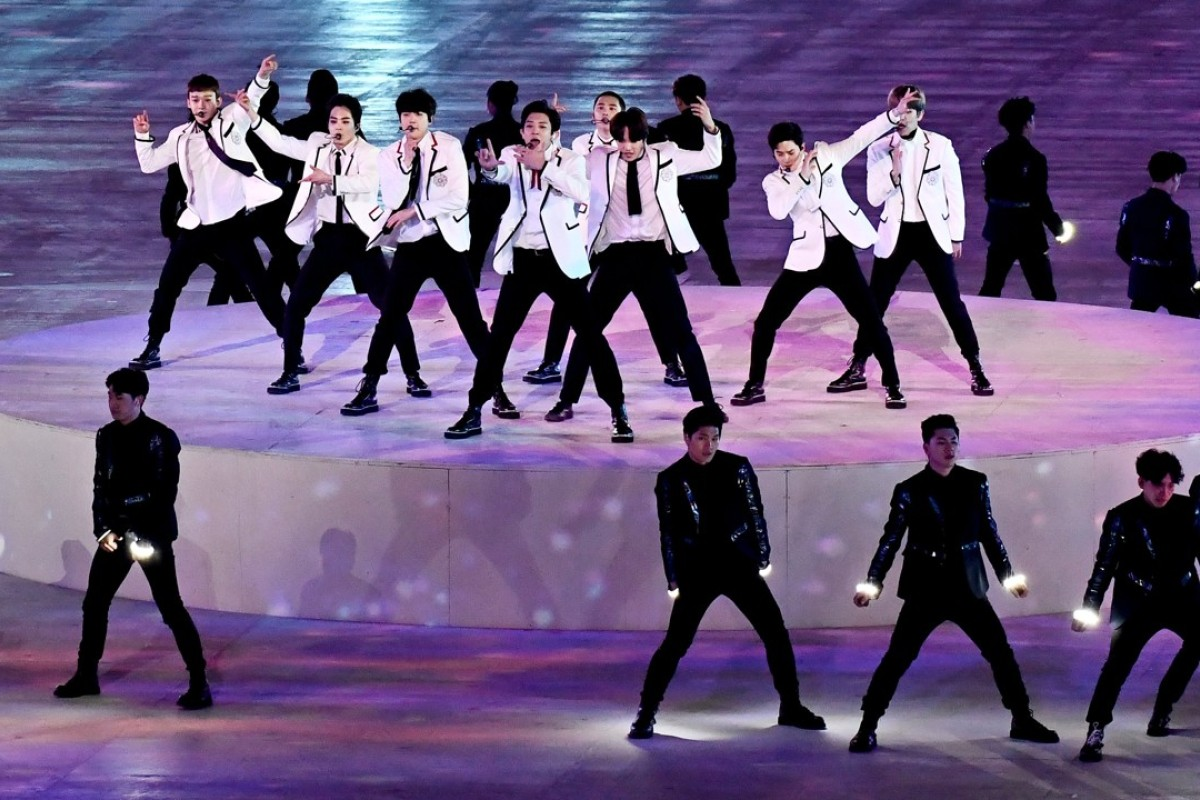 K-pop boy band EXO, which has inspired terminally fan Joana K. Park to write a series of nine novels based on each of the group's nine members. Photo: EPA-EFE