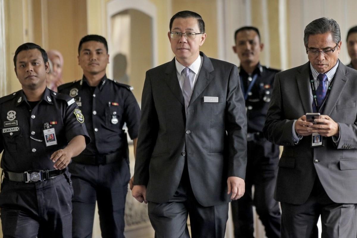 New Malaysian Finance Minister Lim Guan Eng in Putrajaya. Photo: EPA