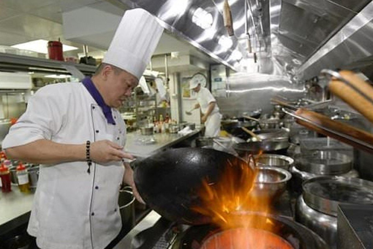Ken Chan worked through tough apprenticeships in Hong Kong before rising through the ranks in Taiwan's culinary scene over the past three decades to become executive chef of hotel restaurant Le Palais in Taipei in 2010. Photo: AFP