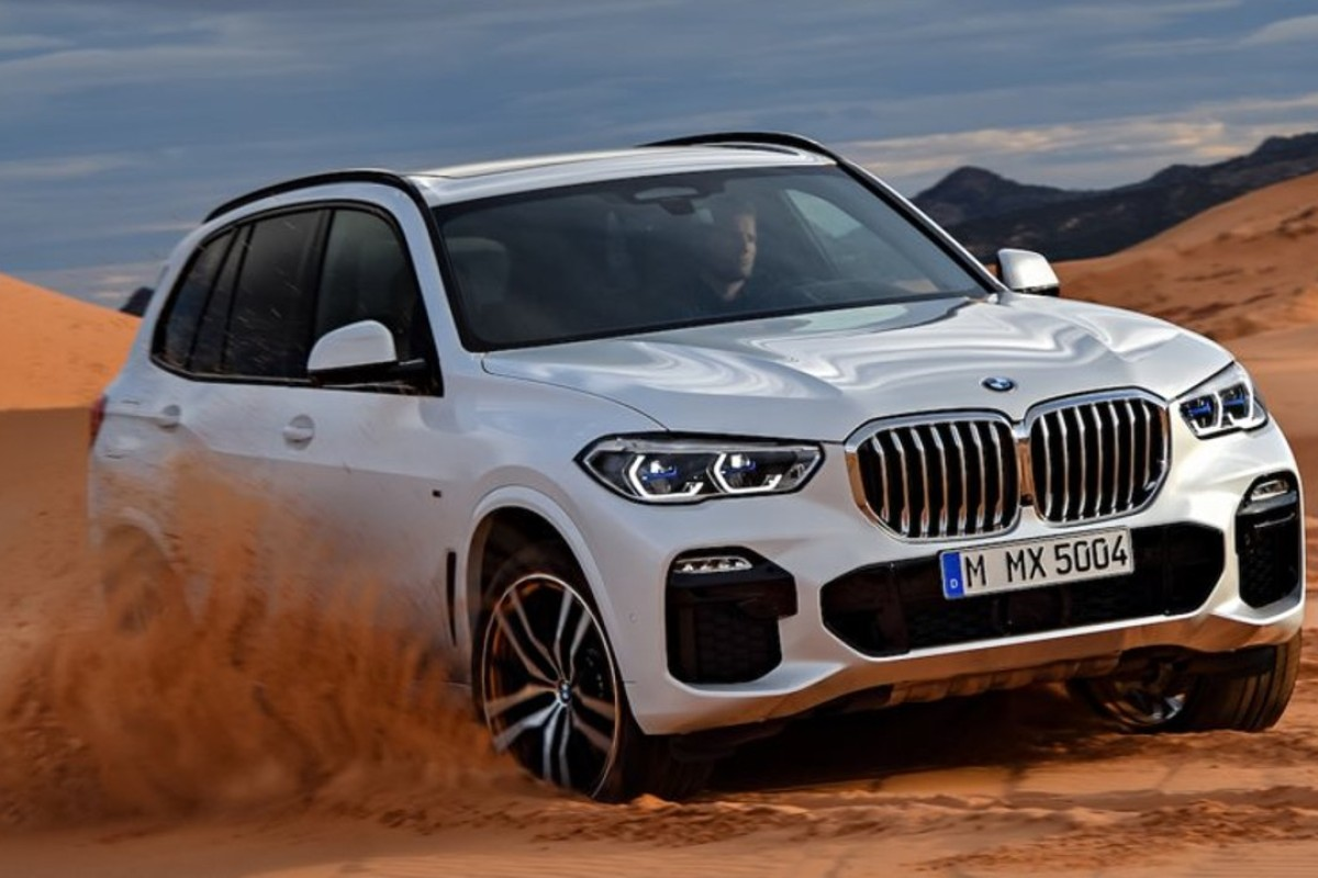 The 2019 X5 is classic BMW, complete with the brand's signature kidney front grille. Photos: BMW