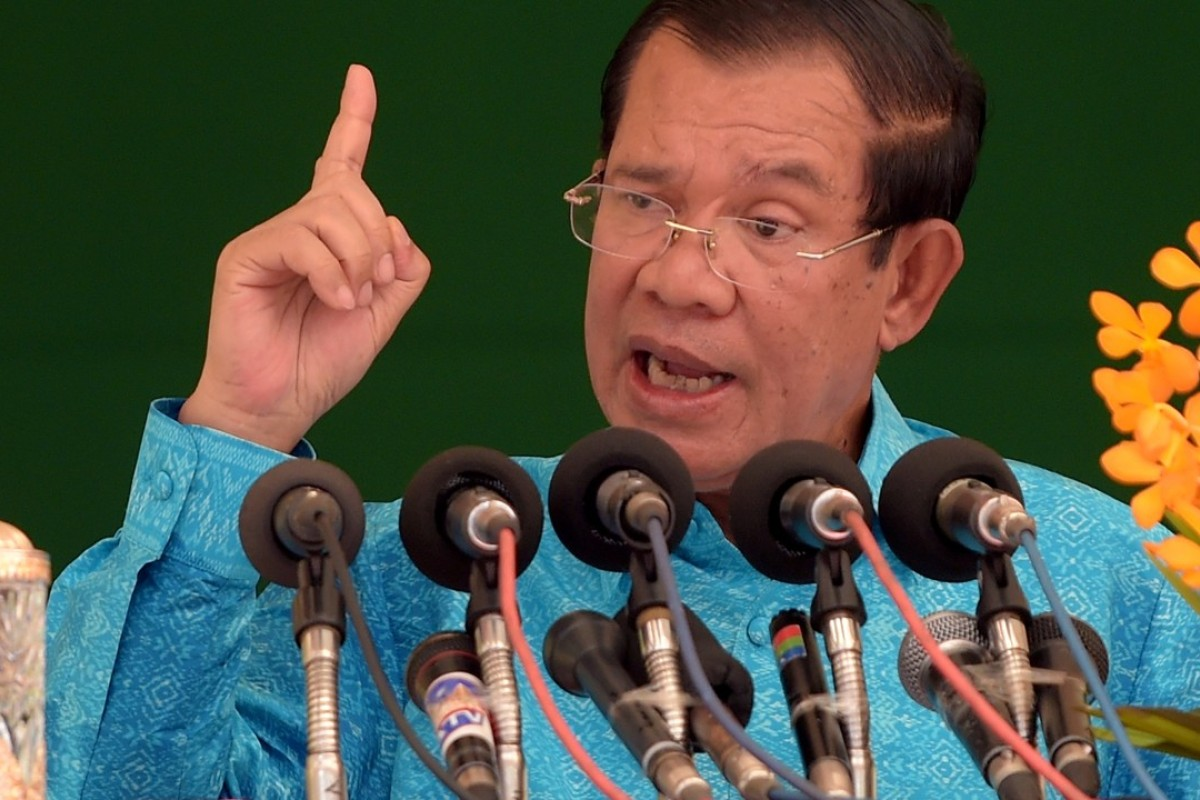 Cambodian Prime Minister Hun Sen has bragged that any economic gaps left from souring relations with Japan would be quickly filled by China. Photo: AFP