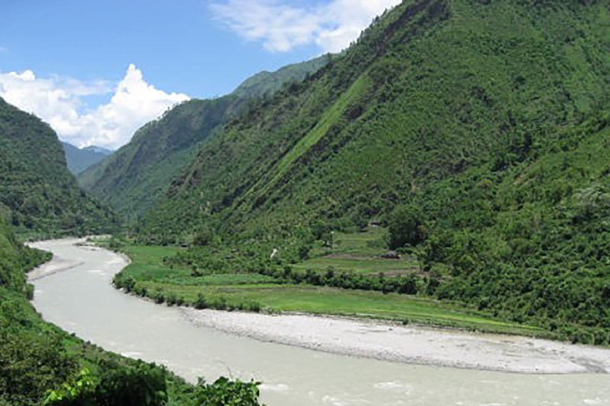 The West Seti River in Nepal. File photo