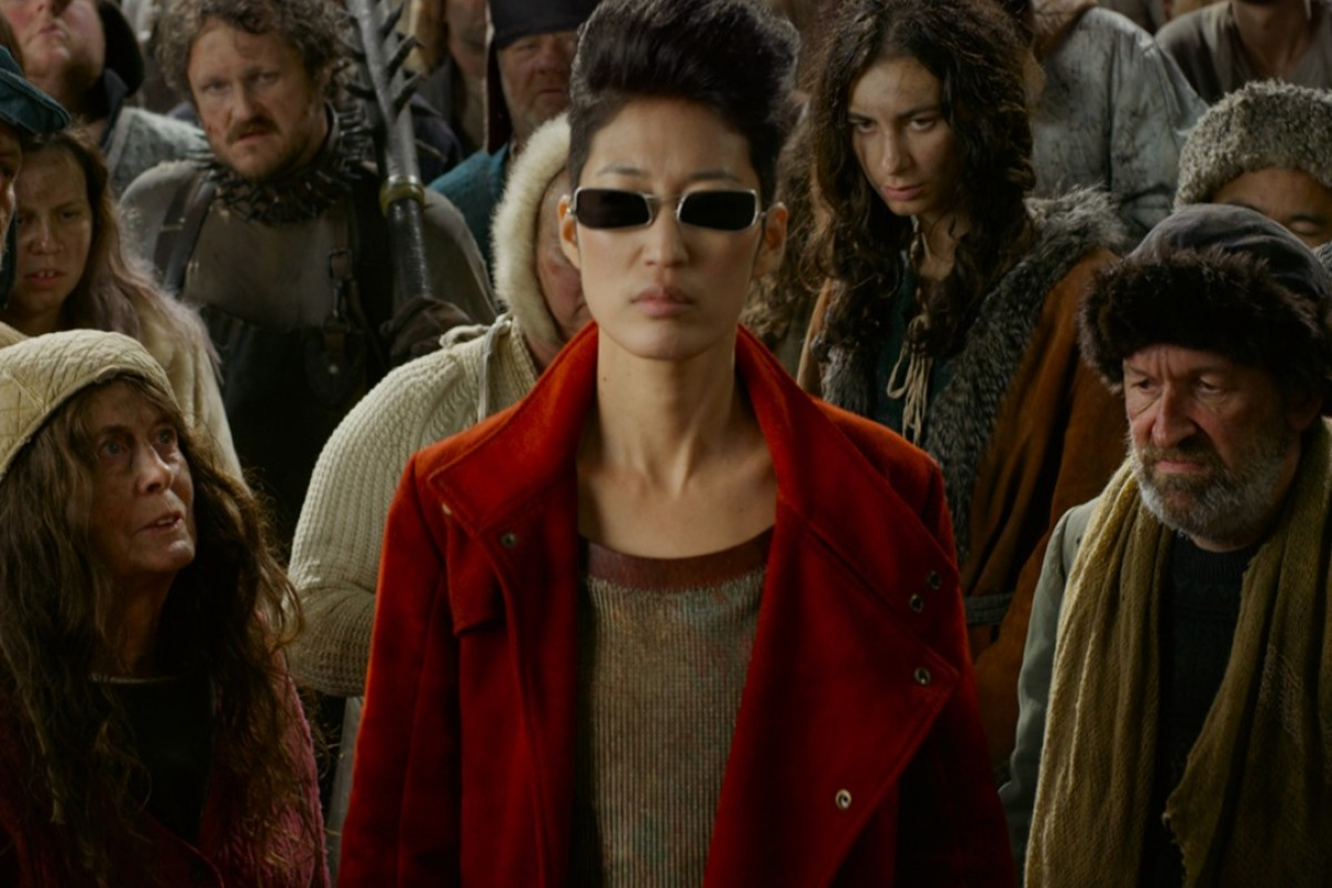 Jihae Kim plays Anna Fang in the new 'Mortal Engines' (2018) movie.