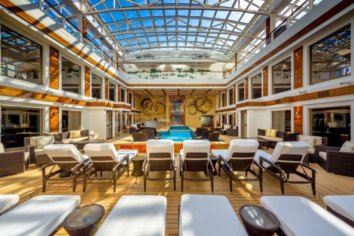 The Norwegian Bliss has an exclusive private area called The Haven with beautiful en suite bedrooms and access to private areas such as a private sundeck.