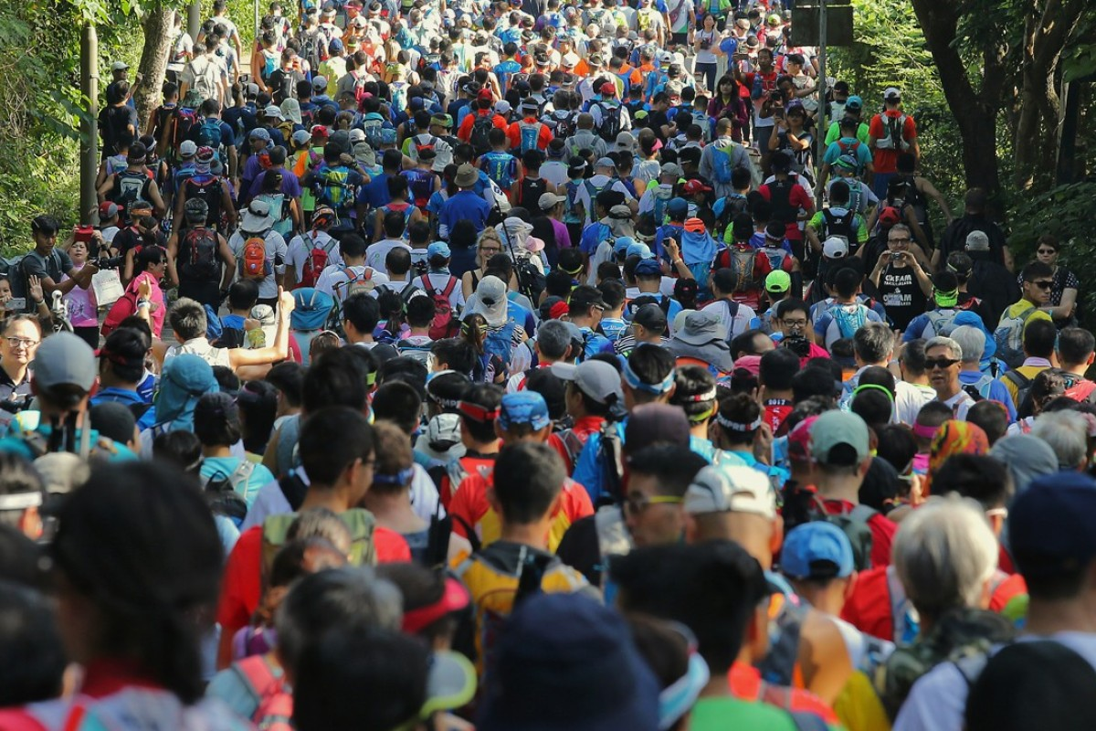 The Oxfam Trailwalker has more runners than any other race in Hong Kong, but only 22.2 per cent of them are women. Photo: Dickson Lee