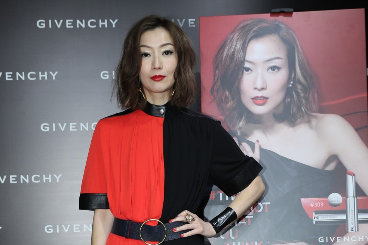 Sammi Cheng at Givenchy pop-up store party.