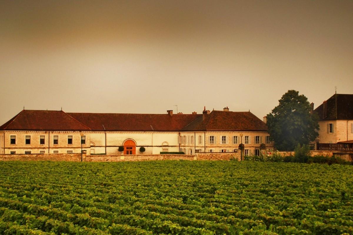 Chateau de la Maltroye in the Burgundy region of France.