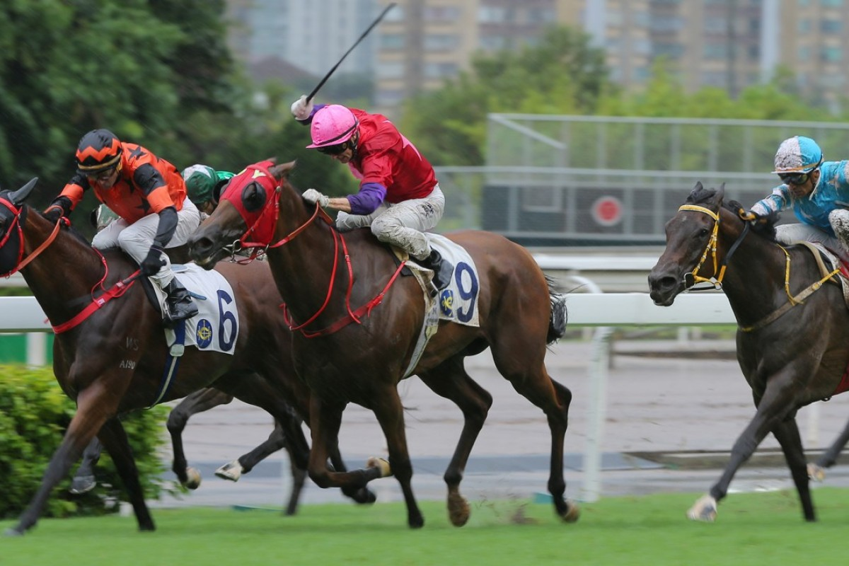 Enjoy Life (right) falls short for Almond Lee. Photos: Kenneth Chan