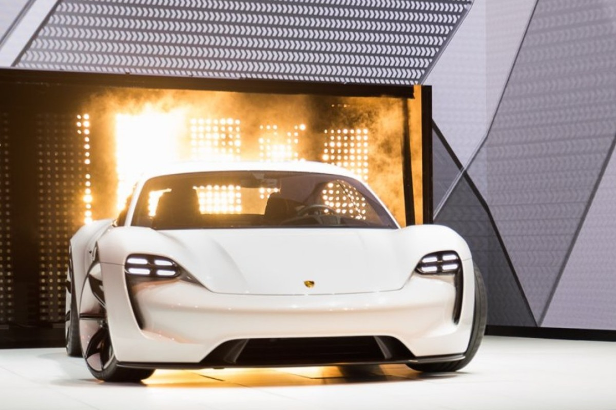 Porsche will begin producing the Taycan, its first fully electric car, in 2019. Photo: Porsche