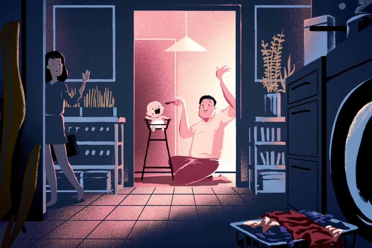 House husbands are no longer the rare breed they once were in Japan. Illustrations: Perry Tse