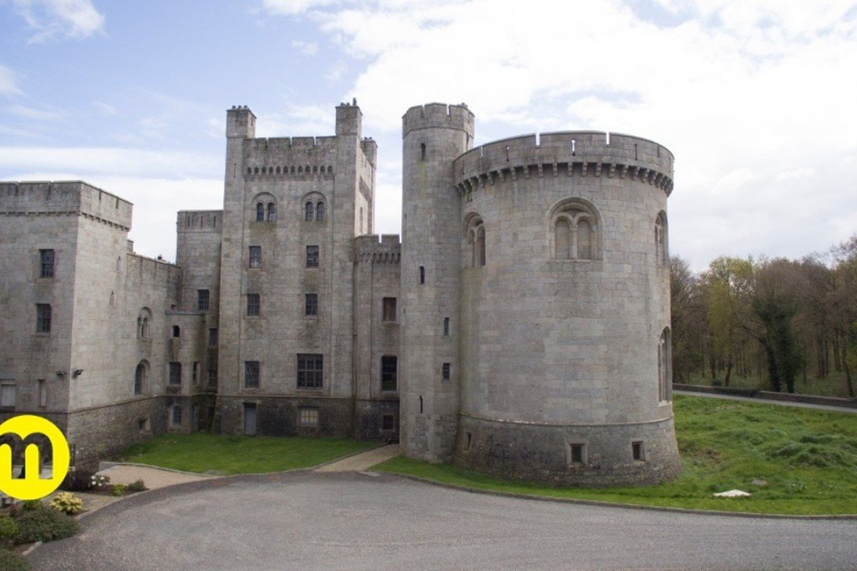 Gosford Castle in Northern Ireland featured in 'Game of Thrones'. Photo: Maison Real Estate