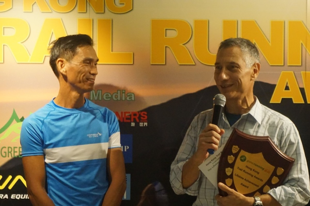 Kieth Noyes wins the lifetime achievement award. He never could have guessed where trail running was headed when he started The King of the Hills in 1998. Photos: Handout