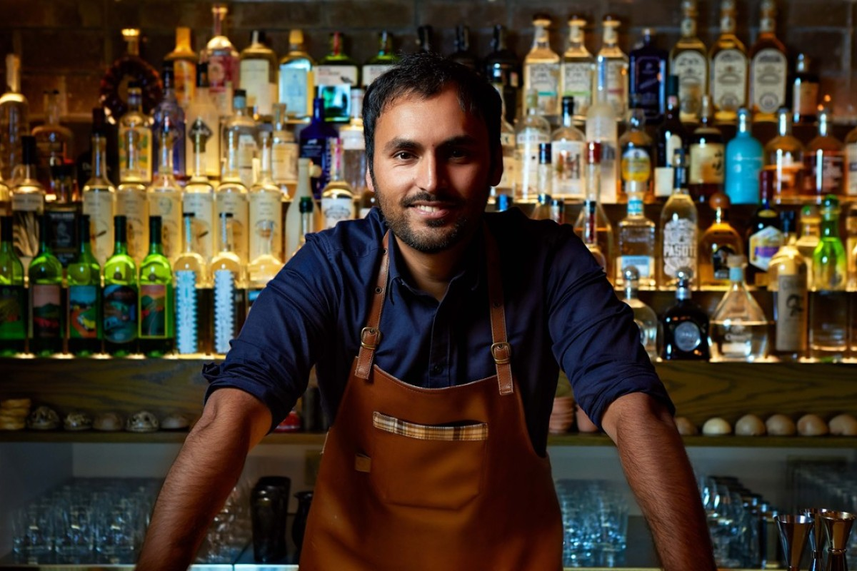 Jay Khan, co-founder of Mexican-inspired craft cocktail bar Coa.