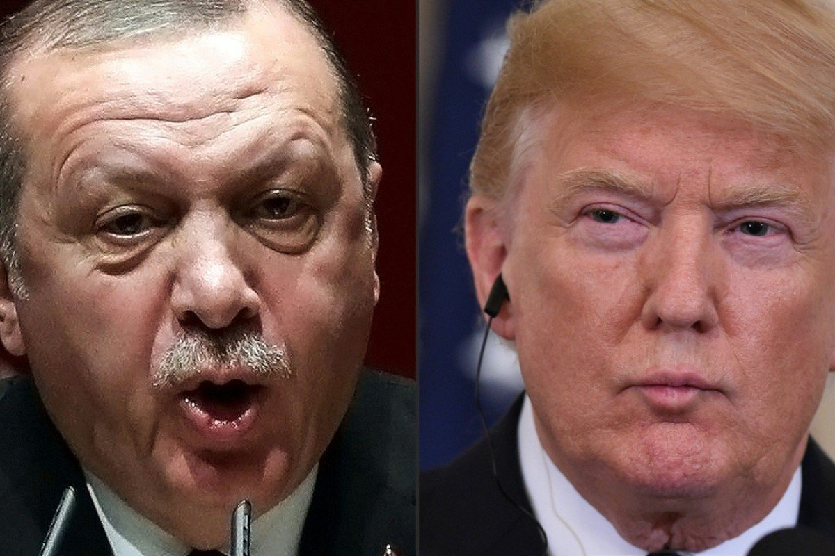 Turkish President Recep Tayyip Erdogan and US counterpart Donald Trump. Photo: AFP