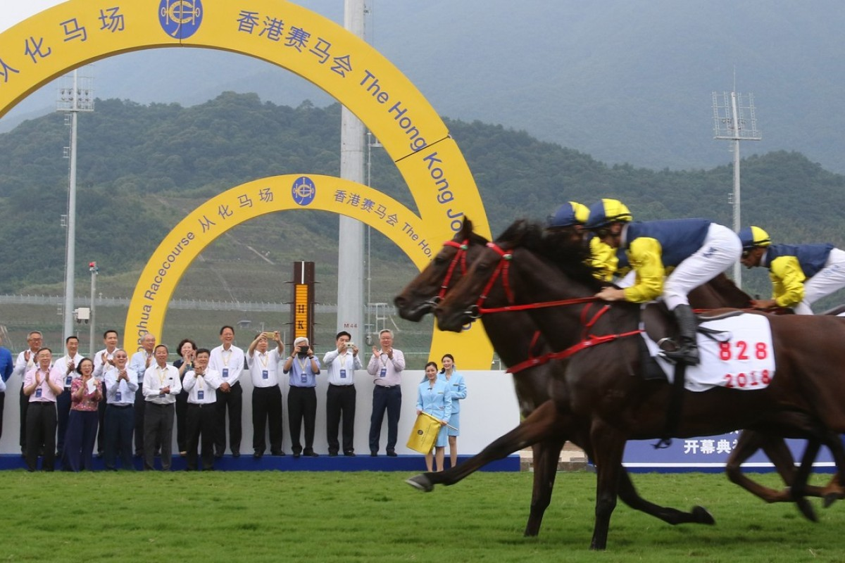 The opening of the Conghua Racecourse. Photo: Kenneth Chan