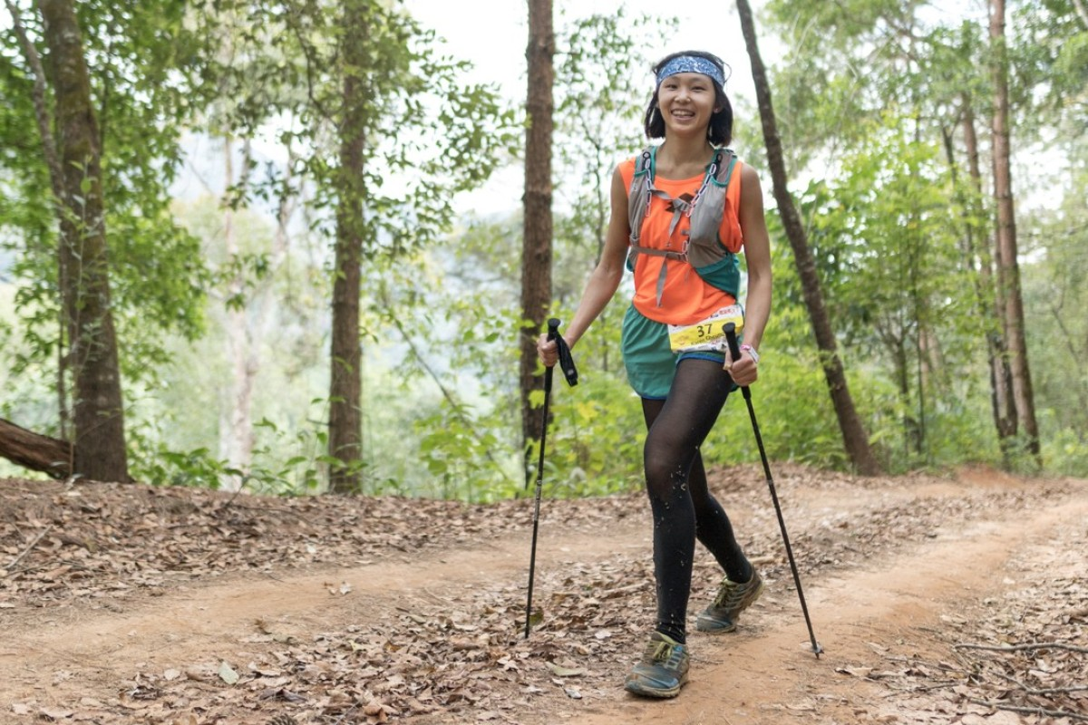 Cheung runs the Thailand 50. Her high finish in the HK50 won her a trip to Chiang Mai. Photo: Action Asia