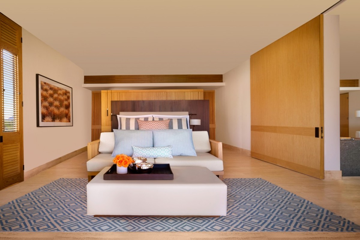 Montage Los Cabos' contemporary design stands out on a stretch of coastline already peppered with luxury resorts.