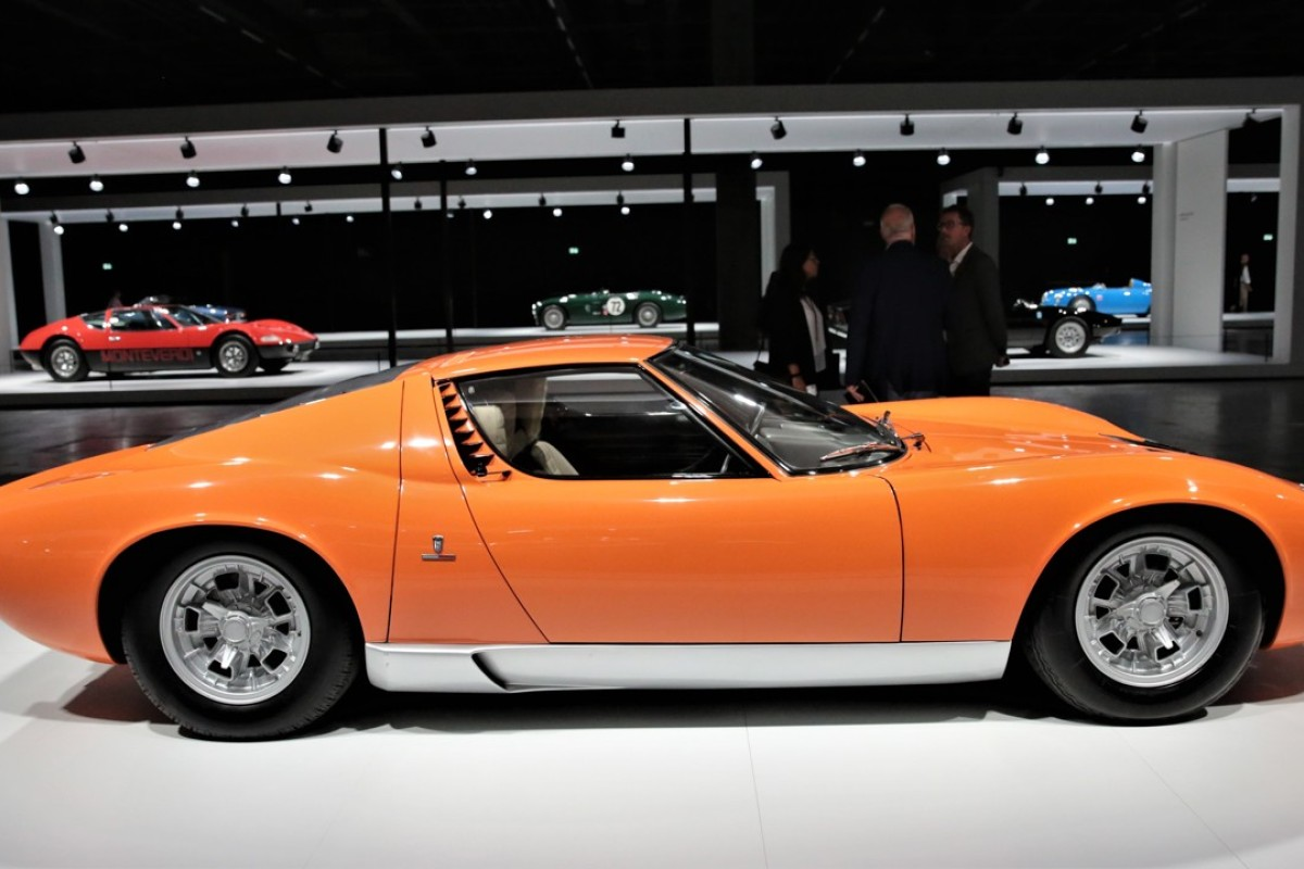 The 1968 Lamborghini Miura – one of 113 luxury cars from the past, present and future on display at the inaugural Grand Basel car show in Switzerland, which runs from September 6 to 9. Photos: Aydee Tie