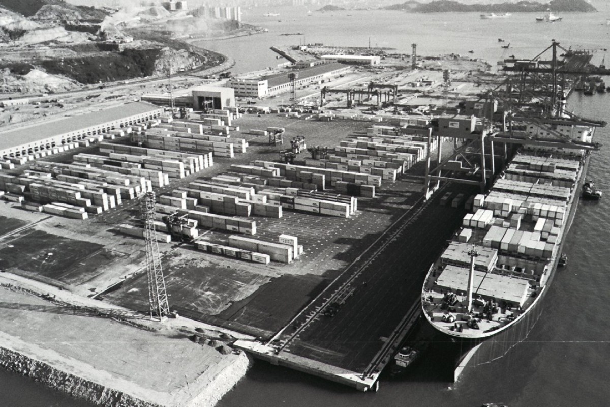 Kwai Chung Container Port, in 1972. Pictures: SCMP