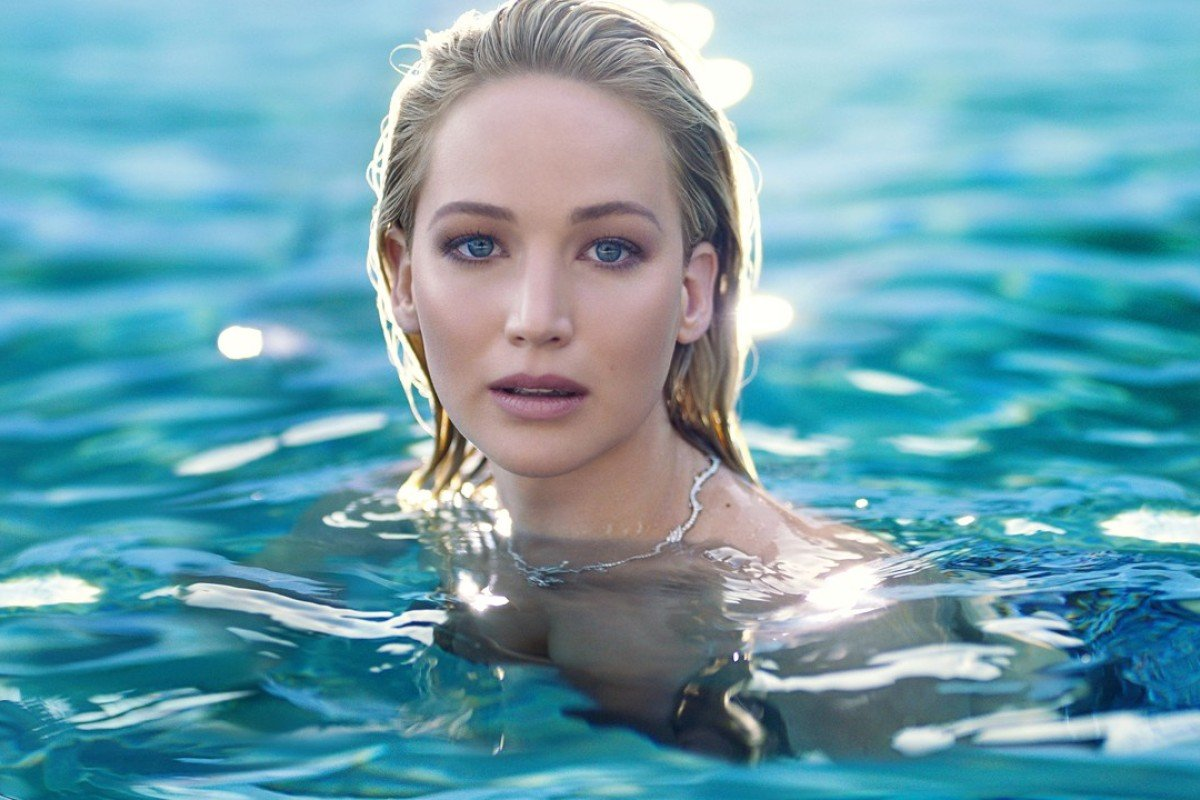 Jennifer Lawrence is the face of Dior's new fragrance, JOY by Dior.