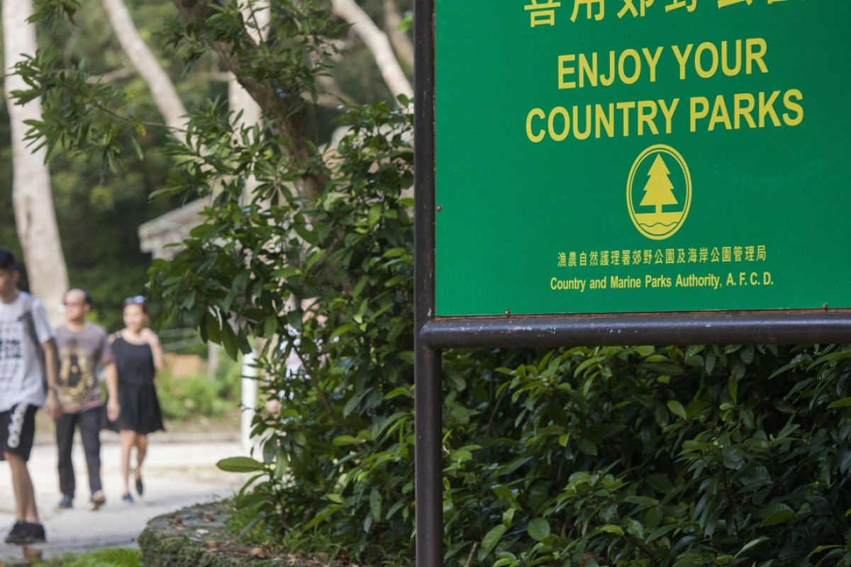 The Agriculture, Fisheries and Conservation Department has told hikers to stay away from the Country Parks until the typhoon damage can be fixed. Photo: Alex Hofford