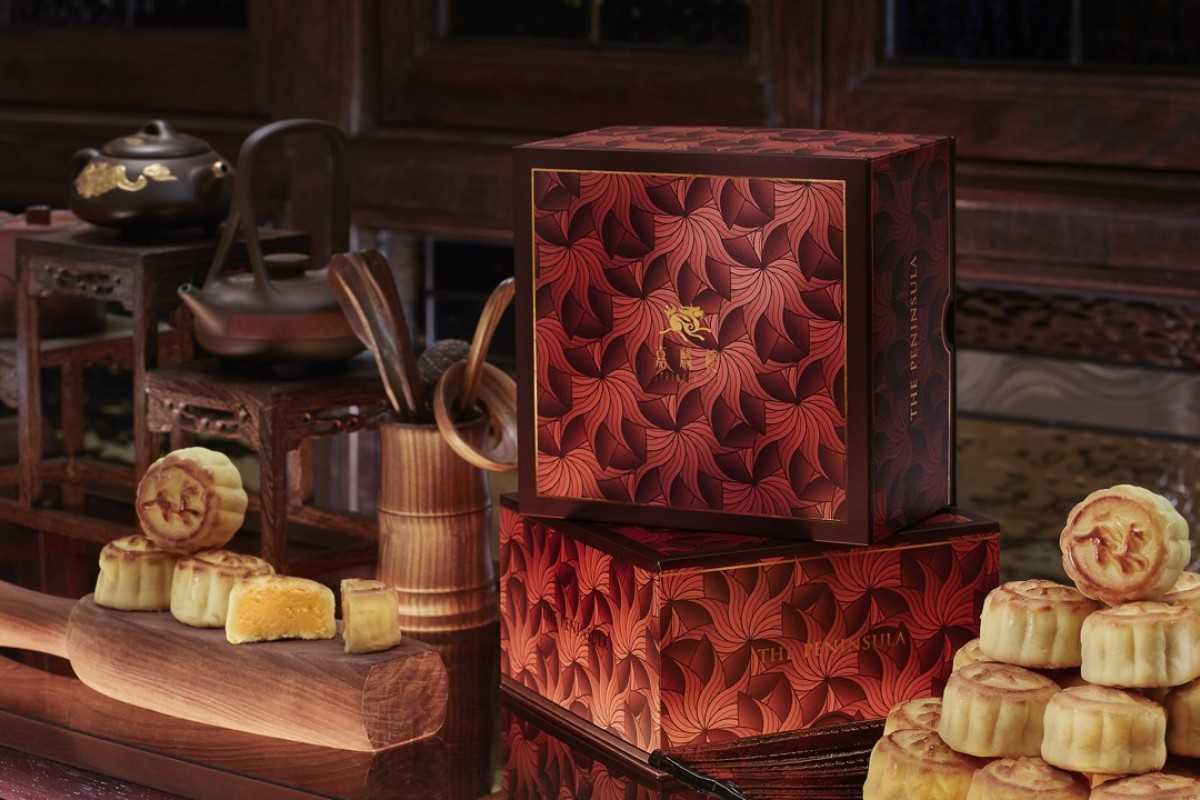The Peninsula's Spring Moon is famous for its mini-egg custard mooncakes.