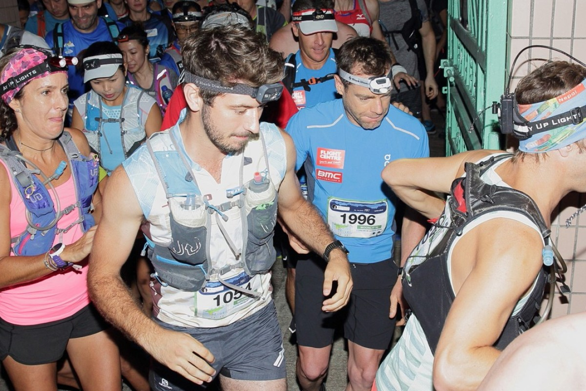Hong Kong's trail running community is coming together to help clean-up the damaged trails. Photo: Barclays Moontrekker