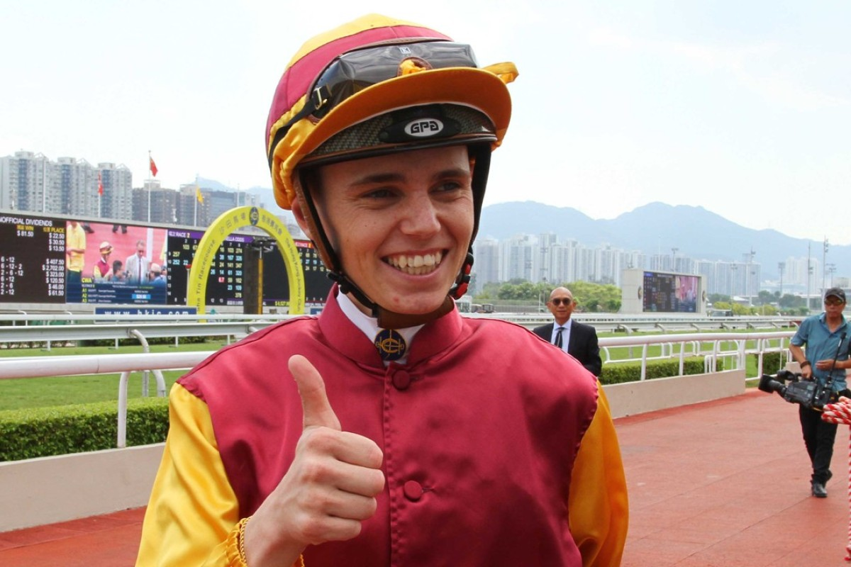 Callan Murray is all smiles after his first win of the season. Photos: Kenneth Chan