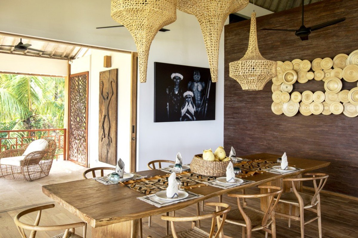 inside a bali holiday home, dreamed up by a french journalist for
